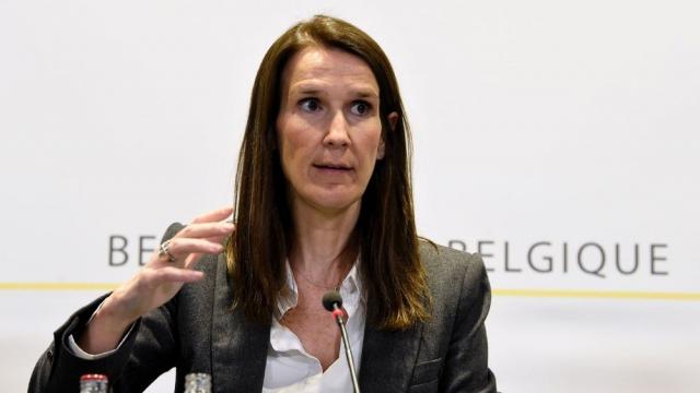 Sophie Wilmès, vice-première ministre belge, ministre des Affaires étrangères