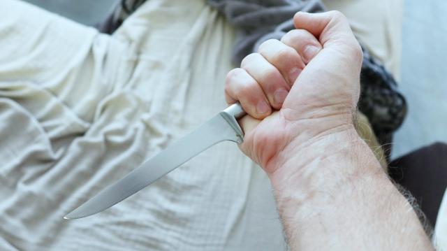 Meurtre couteau