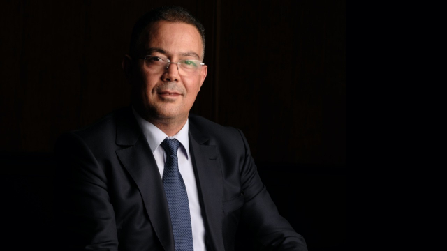 Fouzi Lakjaa, président de la Fédération royale marocaine de football.