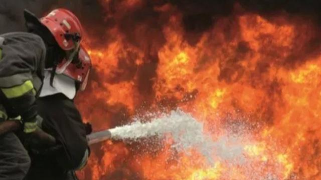 Incendie pompiers