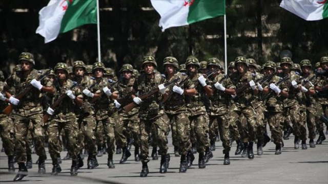 L'armée algérienne