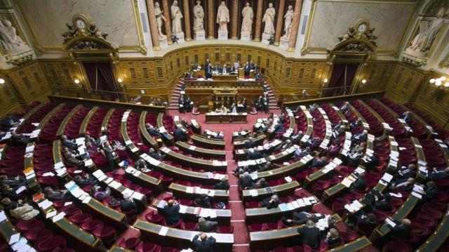 L'hémicycle du Sénat espagnol