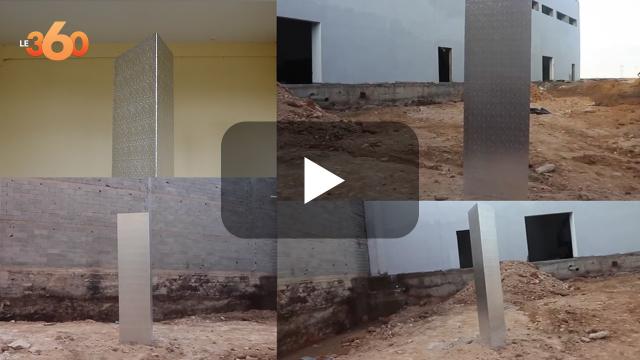 cover vidéo :Le360.ma •تفاصيل عن المجسم الذي ظهر بمنطقة زناتة