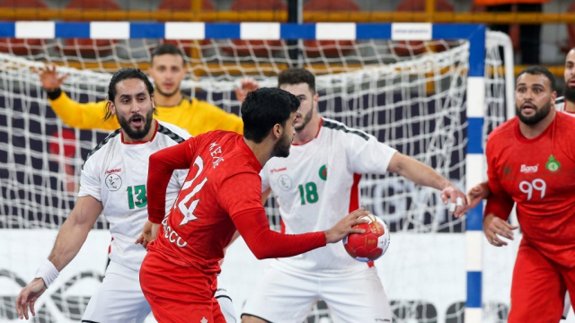 Maroc Algérie handball
