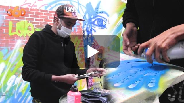 cover vidéo :Le360.ma •Rencontre avec Hicham Bellaghzal, un street artiste passionné