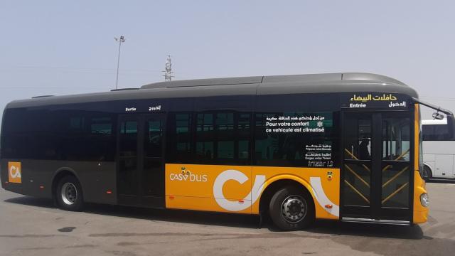 Prototype des futurs bus de Casablanca