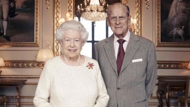 Elizabeth II et son époux