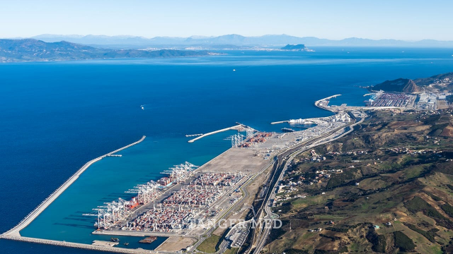 Complexe portuaire Tanger Med