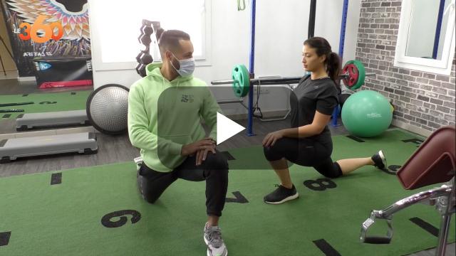 Cover Vidéo -  مدرب رياضي خاص بديل المغاربة في ظل اغلاق الصالات الرياضية