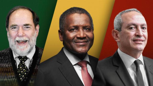 Milliardaires d'Afrique