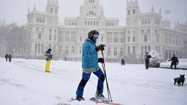 Neige en Espagne