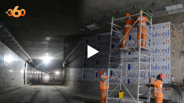 cover vidéo :Le360.ma •نفق الموحدين.. الأشغال تشارف على الانتهاء بأطول نفق في المغرب