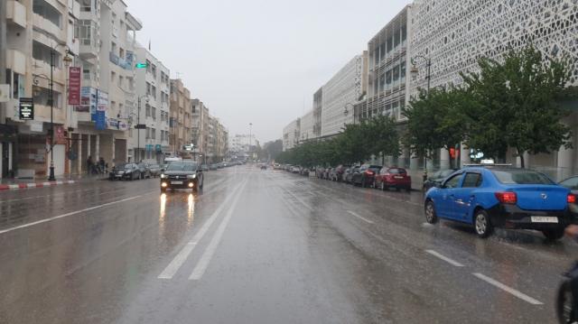 Diapo. Rabat sous de fortes averses ce jeudi 7 janvier
