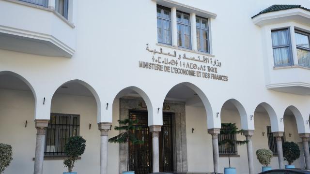 ministère de l'économie et des finances - siège de Rabat