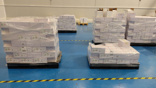 RAFC - première distribution vaccin AstraZeneca -