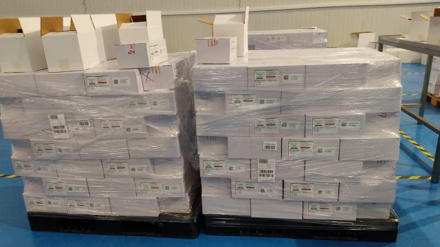 À la RAFC, lors de la première distribution du vaccin d'AstraZenaca (Photo 2)