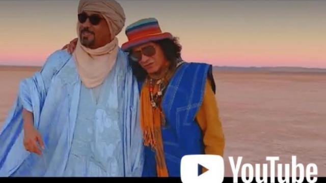 Jbara et Mohammed Ayouch, dans le clip Oudou Lwatankoum