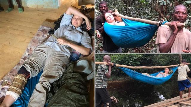 Ashley Judd évacuée vers un hôpital