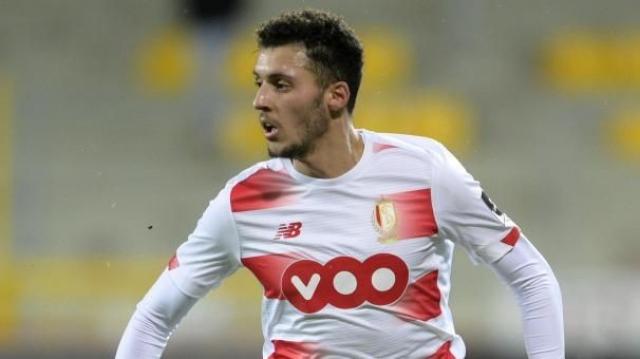 Selim Amallah sous les couleurs du Standard de Liège.