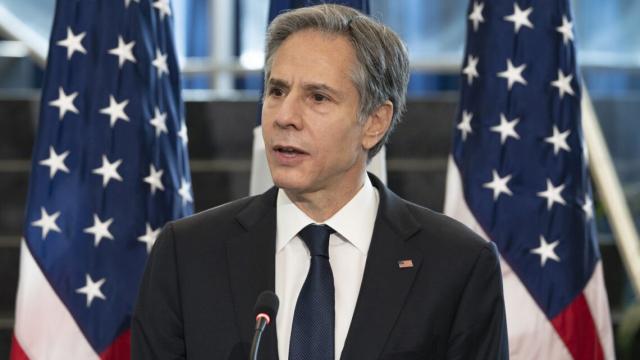 Le chef de la diplomatie américaine Antony Blinken