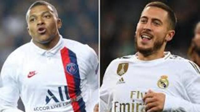 Hazard et Mbappé