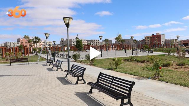 Cover Vidéo -  ساحات وشوارع العيون تتزين بمصابيح صديقة للبيئة