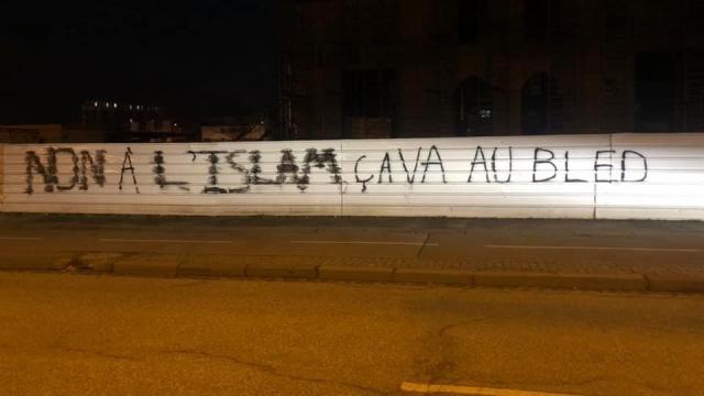 Tag anti-musulmans en France-Islam-xenophonie-racisme
