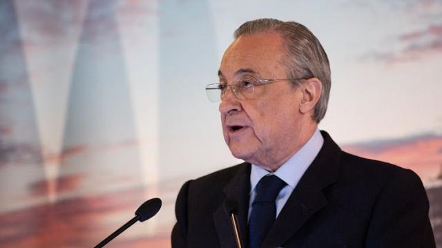 Florentino Pérez, président du Real Madrid.