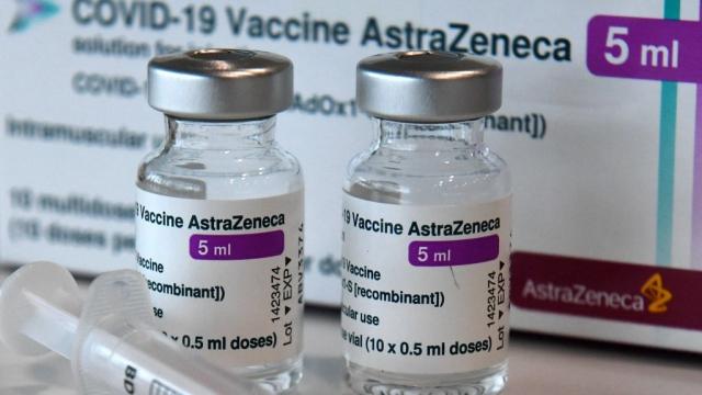 AstraZeneca - Vaccin - Flacons