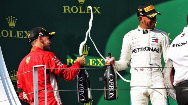 Champagne F1