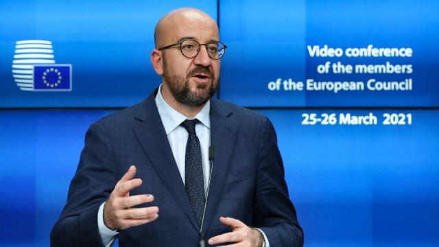 Charles Michel - Sommet européen - Bruxelles