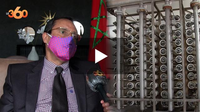 Cover Vidéo -  من المرتقب انشاء محطات اخرى لتحلية مياه البحر