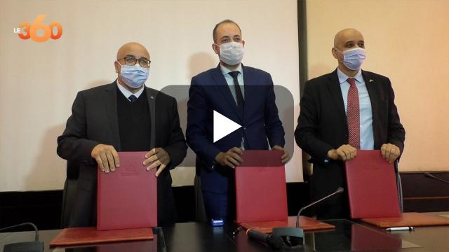 cover: شراكة بين جامعة محمد الخامس وأربع شركات واعدة