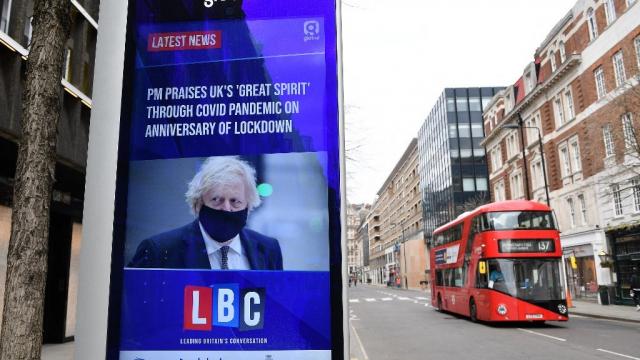 Grande-Bretagne - Coronavirus - Londres - Covid-19 - Boris Johnson