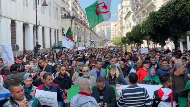 Manifs Algérie 107e vendredi