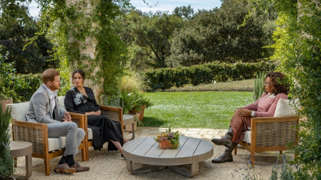 Meghan & Harry - Interview CBS Oprah Winfrey
