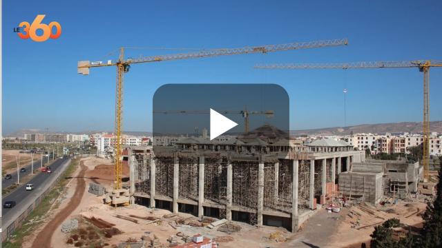 cover vidéo:شاهد وثيرة تشييد أكبر مسجد ومركب ديني بالجنوب بأكادير