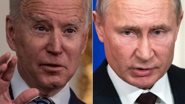 Joe Biden - Vladimir Poutine