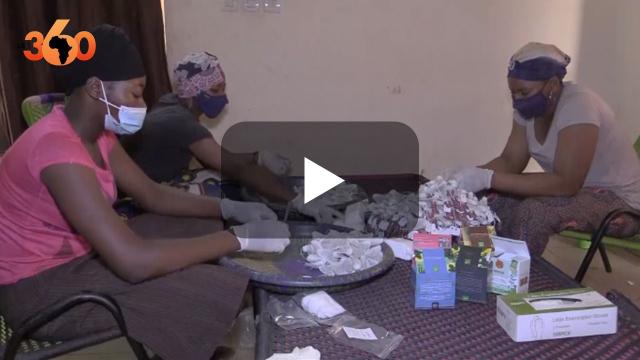 """Vidéo. Des tisanes """"santé"""" au kinkéliba, au gingembre, à la citronnelle... Au Mali, des femmes ont mis le bio en valeur"""