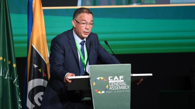 Fouzi Lekjaa, président de la FRMF.