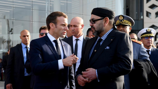 Macron Mohamed VI