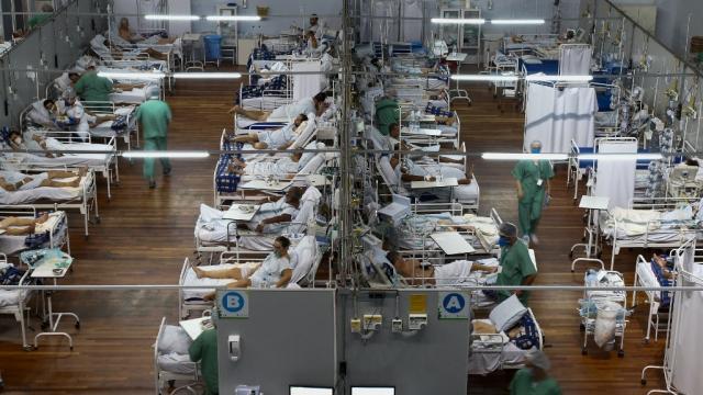 Covid-19 - Hôpital - Sao Paulo - Brésil - Coronavirus