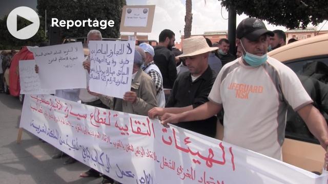 cover vidéo :احتجاج سيارات الأجرة بمراكش ضد تقليص عدد الركاب