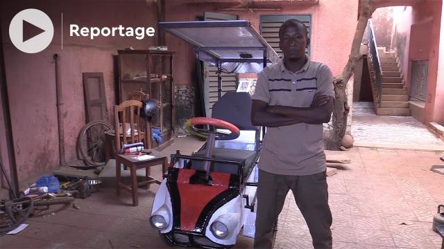 Vidéo. Mali: un ingénieur invente la voiturette tout-terrain à énergie solaire et le moule à briques éco-responsable