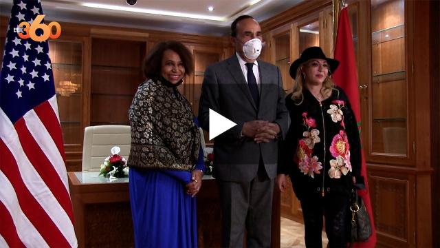Cover : دبلوماسية امريكية من الحزب الديمقراطي سوف تدافع عن المغرب