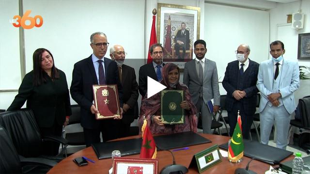 Cover : المغرب سوف يكون أطر المجالس الجهوية بموريتانيا