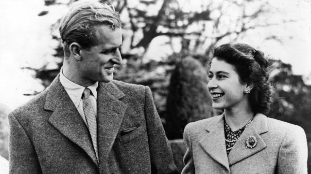 La reine Elizabeth II et son époux, le Duc d'Edimbourg