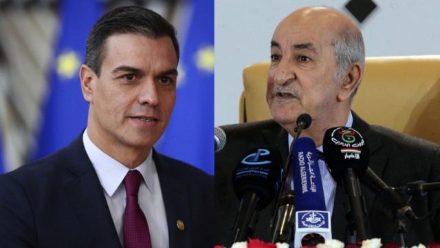 cover: Pedro Sanchez, chef du gouvernement espagnol, et Abdelmadjid Tebboune, président algérien.