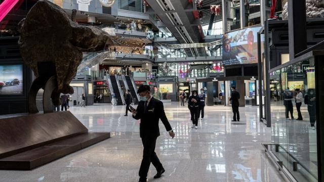 Pékin - Mall - Chine - économie - PIB -