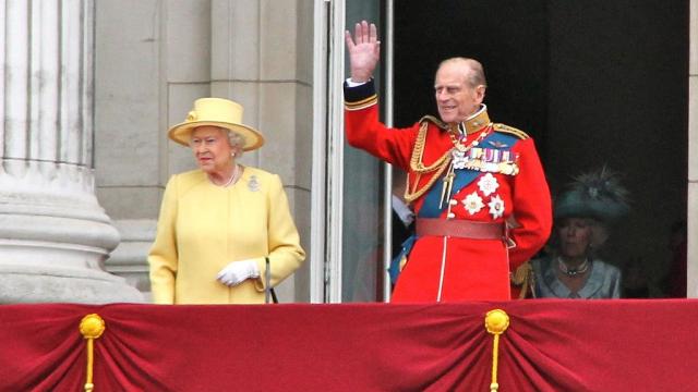 La reine Elizabeth II - duc d'Edimbourg